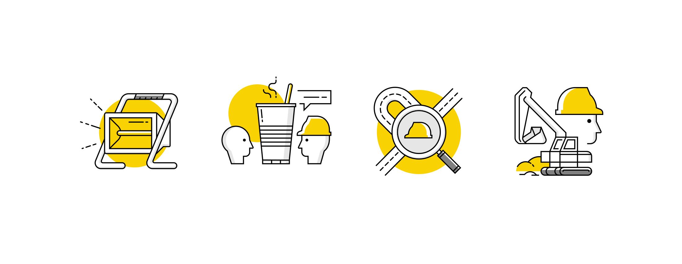 iconen, icoon ontwerp, icons